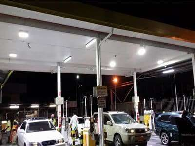 led canopy for gase station lights