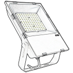 CE/ETL outdoor led lighting_ flood light led