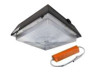 Outdoor Canopy Lights_led garage light emergency backup