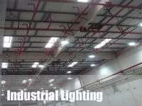 indoor led lighting for high bay lights