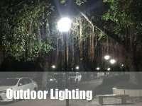 outdoor led lighting for area light solution