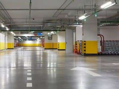 linear-led-vapor-tight-lights-for-parking-garage lighting