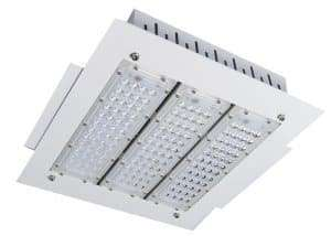 recessed-emergency led-canopy-lights-gas-station-lighting fixture