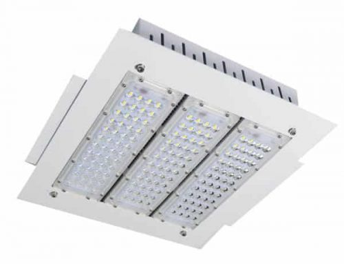 Recessed Emergency Light | LED Canopy Battery Backup