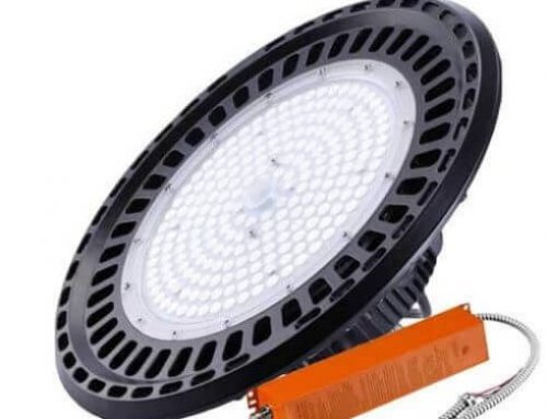Battery Operated Emergency Lights High Bay UFO LED 60W