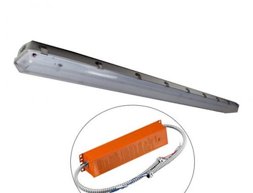 8′ Linear LED High Bay Emergency Lights 80W