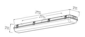 dimension-of-4-ft-linear-led-high-bay_emergency-vapor-tight fixtures