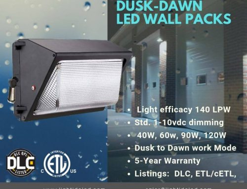 LED Wall Pack Outdoor Updated to 140 lumen/watt