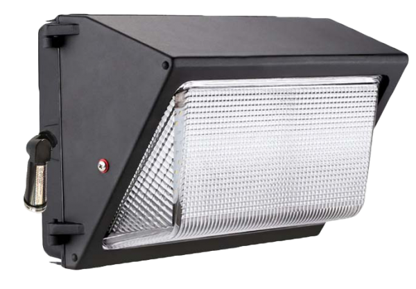 Lightide wall mount led wallpack security area lighting