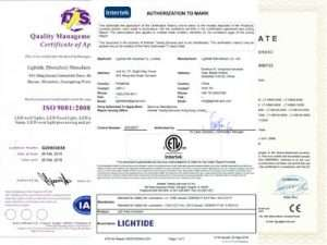 outdoor lights manufacturer_canopy led light_wall pack led_high bay light certificate