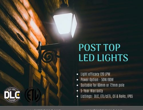 Outdoor Post Light Fixtures Optimizing LED Module Design
