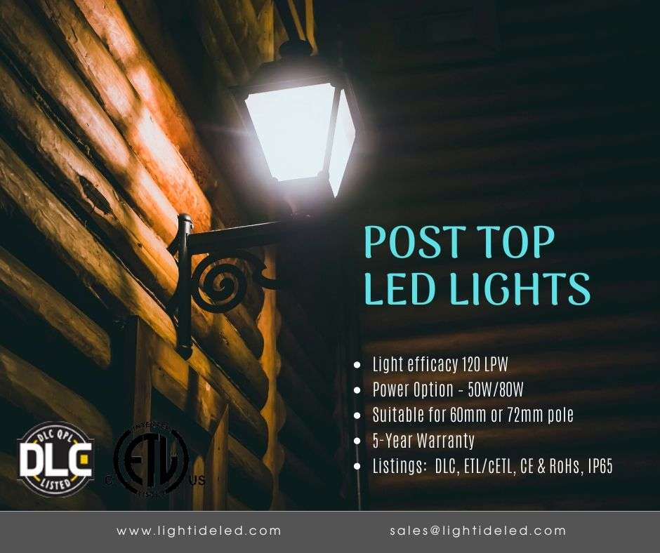 DLC led POST LIGHT OUTDOOR