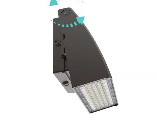 Adjustable LED Wall Pack Lights | Rotatable Floodlights