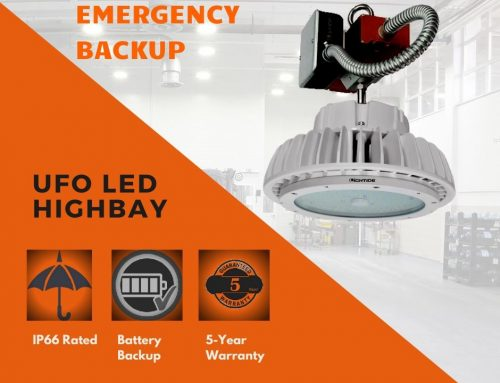 LED High Bay With Battery Backup UL924 Emergency