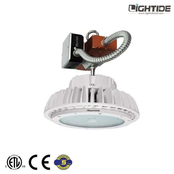 Lightide-UFO-LED-high-bay-shop-light-emergency-battery-backup