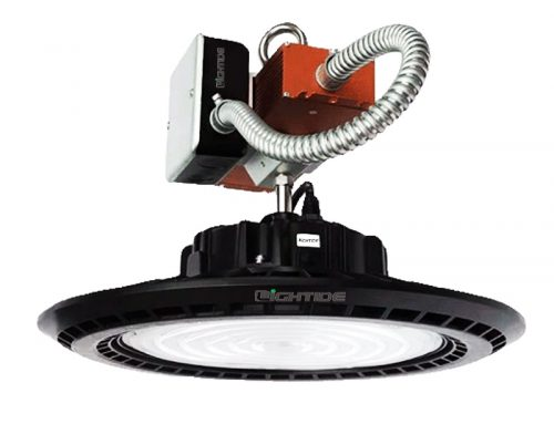 Emergency Backup High Bay LED Lights UFO 240W