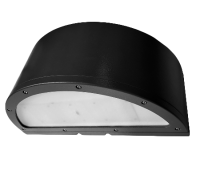 radius full cutoff led wall pack lights