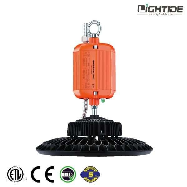 Lightide-high-power-emergency-battery-UFO-LED-high-bay-ceiling lights-100W-240W