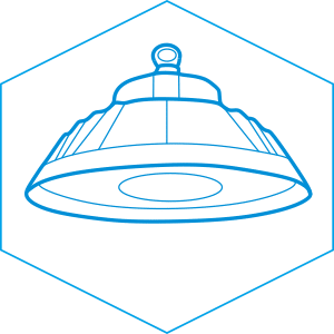 ufo led high bay light drawing-BE1